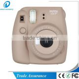 New Selfie Edition Fuji Polaroid Instax Camera Mini8 Plus Instant Camera Cocoa Color