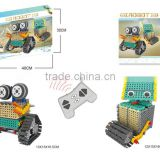 BNR900229 178pcs 2 IN1RC robot DIY plastic Educational baby building block
