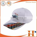 Adults Age Group Promotional White Hat Private Label Baseball Caps Wholesale Cap And Hat