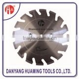 Laser welded segmented small diamond cutting disc fot long life cutting extremely abrasive material