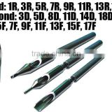 Stainless Stee tattool Tip special new design extra long magnum 316L surgical steel tattoo grip tips