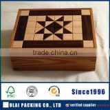 Teabag Bamboo Storage Box Chest Supply Organizer
