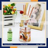 china supplier Personal Care Industrial Perfume Use yiwu home decor round glass bottle reed diffuser with rattan sticks                                                                                                         Supplier's Choice