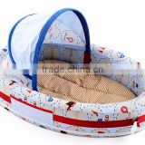 high quality fashion design baby travel carrier bassinet baby playpen bassinet foam folding baby bassinet