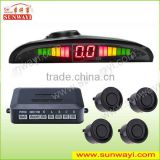 Sunway rear parking assist system parking sensor with camera and usb