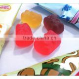 Yake gummy candy with animal shape