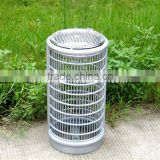 Welded wire cloth metal outdoor ash urn outdoor cigar ashtray stand