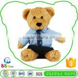 Newest Hot Selling Premium Quality Factory Price Custom Tag Cute Plush Toy Teddy Bear Pilot
