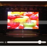 alibaba express sign in shenzhen full color video wall indoor advertising board curtain LED