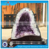 2016 Wholesalechristmas ornaments Natural quartz crystal amethyst geode decoration                                                                         Quality Choice                                                                     Supplier's Ch