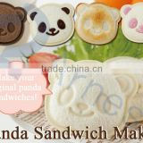 kitchen tools kitchen stationary japan cookies cooking cutter bento lunch box children gift equipments panda sandwich maker box