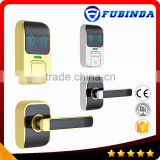rfid card security electric handle safe hotel smart keyless digital door lock code change