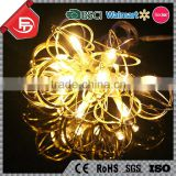 TZFEITIAN 10L warm white metal pendant holiday decorative small battery operated led light