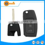 abs flip remote car key with 433mhz frequency 4d63 chip 3 butoon auto windows auto close function for focus