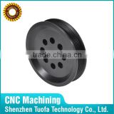 Custom made cnc machined plastic large pulleys for sale