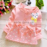 cute spring style baby long sleeve coat