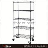 Adjustable metal wire chrome stands