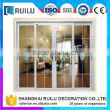 Australian standard double glazing Aluminum Windows/aluminium frame sliding windows made in China