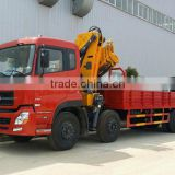 8ton knuckle boom Crane and Accessories,SQ160ZB3, hydraulic truck mounted crane.