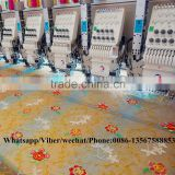 High speed sequin beads mixed embroidery machine with triple servo motor