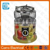 Natural portable gas heater