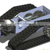 Skid steer rubber track