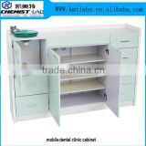Chemical Resistant Dental Laboratory Furniture Type Dental Lab Work Bench With Multi Drawers For Dentist