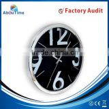 Big digital number hot selling plastic wall clock for promotion with home/office decoration