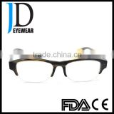 fashion design custom made buffalo horn eyeglasses frame