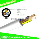 3 core electrical power flex cable with CCA conductor
