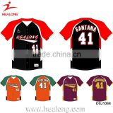 Fully Sublimation Plus Size 5XL Customized Jersey Baseball Uniforms Youth Shirts Wear