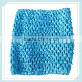 "Hot sale high quality 6"" handmade crochet tube tops for kids Boutique Tutu Tube Tops For Girls colorful crochet tube top"