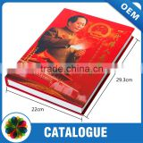 2015 Glossy lamiantion cheap hardcover book printing, hardcover photo book with high quality