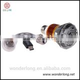 Factory direct supply mobile phone control Bulb WiFi/AP IP Network DVR Camera with real light control by mobile phone