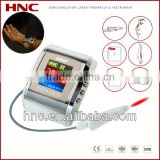 clinical test non-invasive painless 650nm cold laser therapy blood pressure control watch