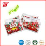 70g Wholesale Bags Tomato Sauce From Tomato Paste Production Line
