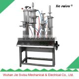 10ml to 750ml semi automatic aerosol spray filling machine ,car spray paint colors filling machine