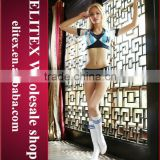 2015 sexy football girl cheerleader uniform wholesale