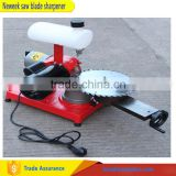 NEWEEK hard alloy manual knife sharpener band saw blade grinding machine
