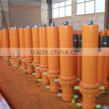 front end dump truck multi stage telescopic hydraulic cylinder