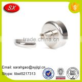 High Quality Zinc Plated Powerful Neodymium Pot Magnet Magnetic Hooks For Industrial Magnet
