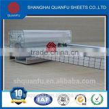 Ushape metal stud roll forming machine pc hollow sheet-polycarbonate sheet-roofing sheet high fire rejection