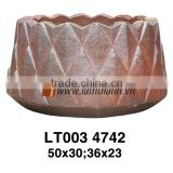 Vietnam Special Outdoor Porcelains Clay High Fired Pottery
