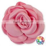 Factory Wholesale Cheap Top Quality Handmade DIY Satin Ribbon Rose Flowers for Wedding Bridal Hand Bouquet Garment Accessories