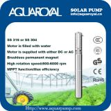 Solar Pumping Systems - Boreholes,Wells,Irrigation DC solar well pumps - 4SP8/3(Integrated Type)