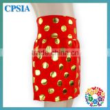 Childrens Boutique Clothing Young Girl Charming Polka Dot Mini Skirt Party Dance Wear Cotton Skirts