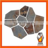 Rusty Meshed Paving Stone&Flooring Matted Paving Stone---OSF008
