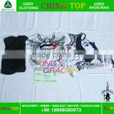 guangzhou tshirt factory wholesale bundle used clothing hot sale in toronto,american used clothing
