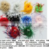 colorful sweet ostrich feather puffs