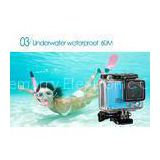 Multifunction Outdoor Sports Camera , Bicycle / Motorcycle / Underwater Helmet Action Cam